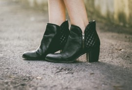 sennik Czarne obuwie