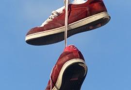 sennik Czerwone obuwie