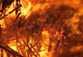 znaczenie snu Sen Pożar