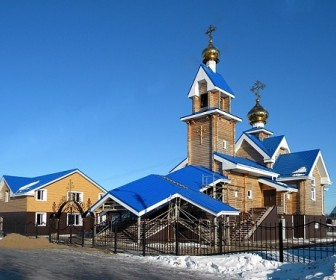sennik Płonący kościół