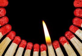 sennik Wpaść w ogień